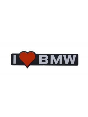 ΣΗΜΑ AYTΟΚΟΛΛΗΤΟ I LOVE BMW