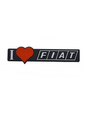 ΣΗΜΑ AYTΟΚΟΛΛΗΤΟ I LOVE FIAT
