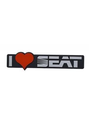 ΣΗΜΑ ΑΥΤΟΚΟΛΛΗΤΟ I LOVE SEAT