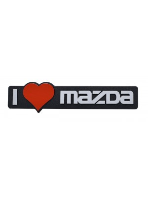 ΣΗΜΑ AYTΟΚΟΛΛΗΤΟ I LOVE MAZDA