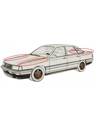 ΑΕΡΟΤΟΜΗ AUDI 100 & BMW E30 12/1982-> (3 ΤΕΜΑΧΙΑ)