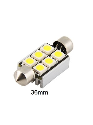 LED CANBUS S8.5 36mm 5050 6SMD