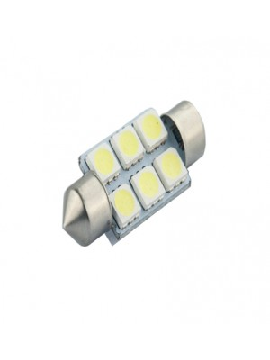 LED ΑΠΛΑ ΣΩΛΗΝΩΤΑ 12V 12pcs FLUX 36mm