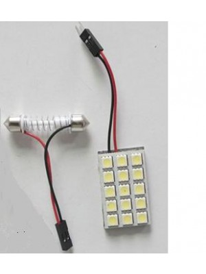 LED ΠΛΑΦΟΝΙΕΡΑΣ 12V 15pcs 5050 SMD 36mm