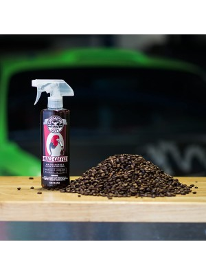 RIDES AND COFFE SCENT AIR FRESHENER AND ODOR ELIMINATOR 118ml